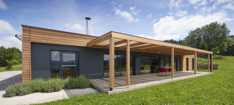 Combien coûte une maison en bois construite par Booa ?