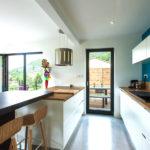 cuisine moderne d'une maison booa