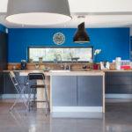 cuisine bleu éléctrique