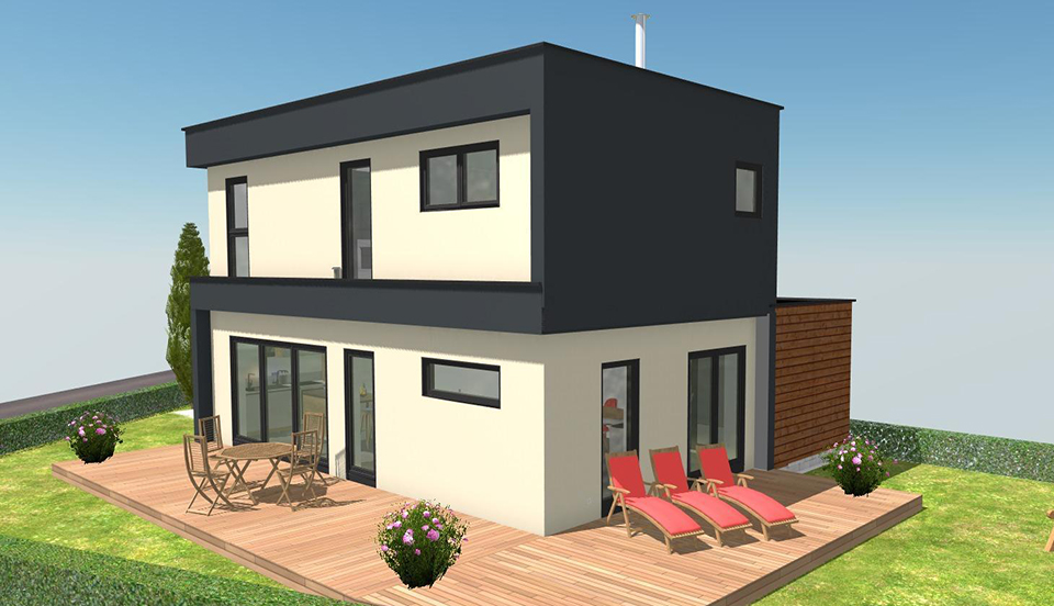 terrain + maison booa Savoie