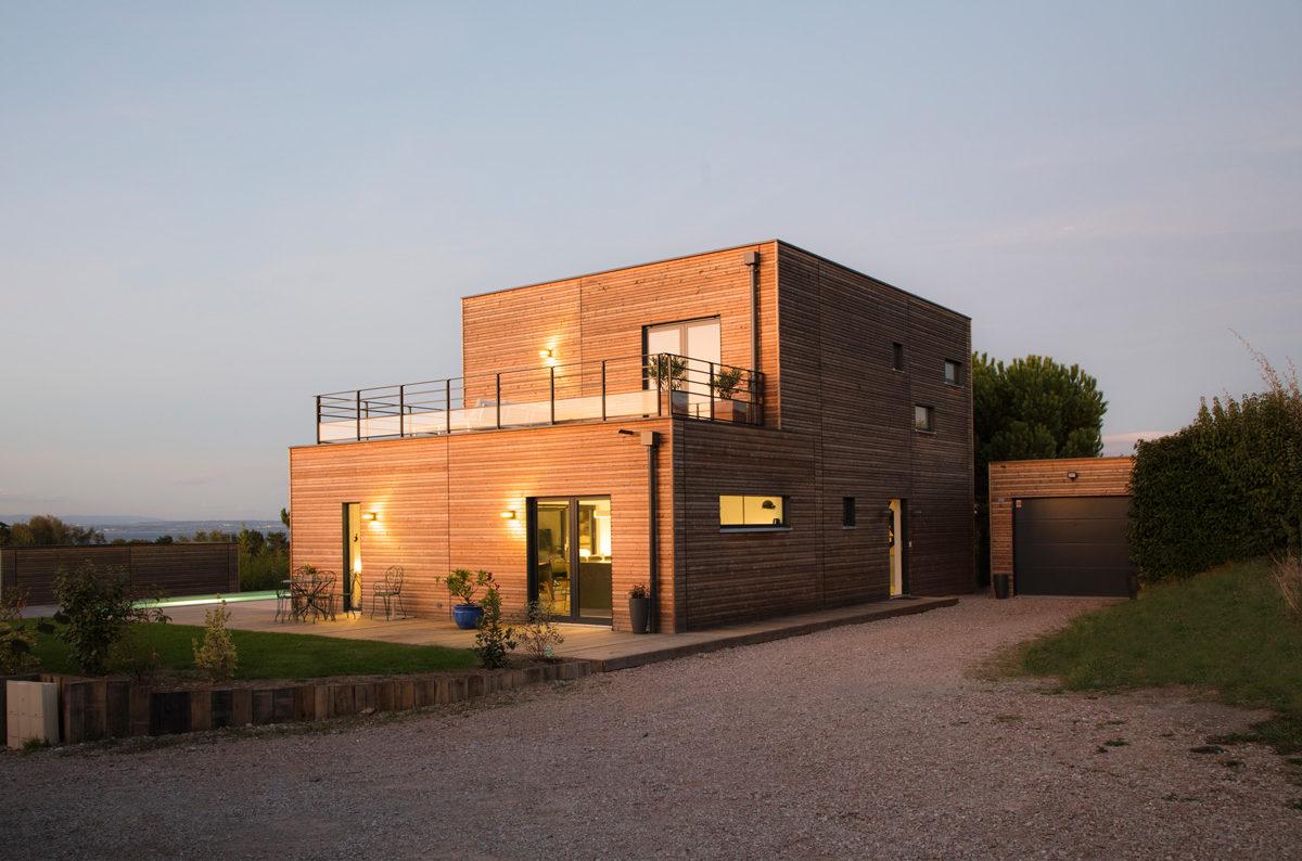 Maison En Bois Moderne Achat Construction Booa